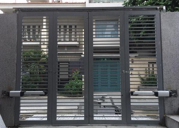 Mẫu cửa cổng tự động tay đòn đem đến nhiều tiện lợi cho người sử dụng